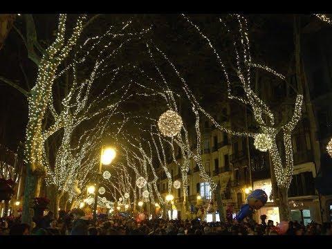 Coincidint amb l'encesa de llums de Nadal a Igualada…