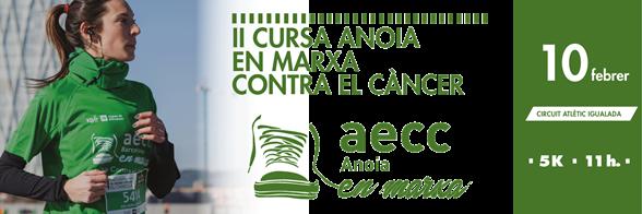 II Cursa Anoia en marxa contra el cáncer
