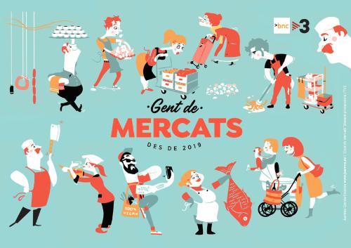 La Masuca al programa «Gent de Mercats» de TV3