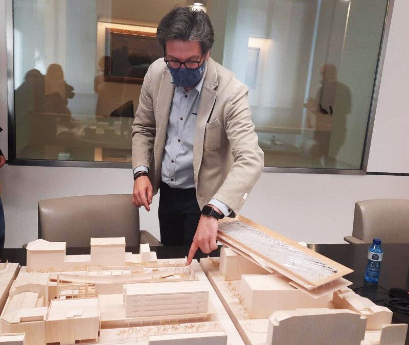 Presentació de l'avantprojecte de la renovació del Mercat de la Masuca